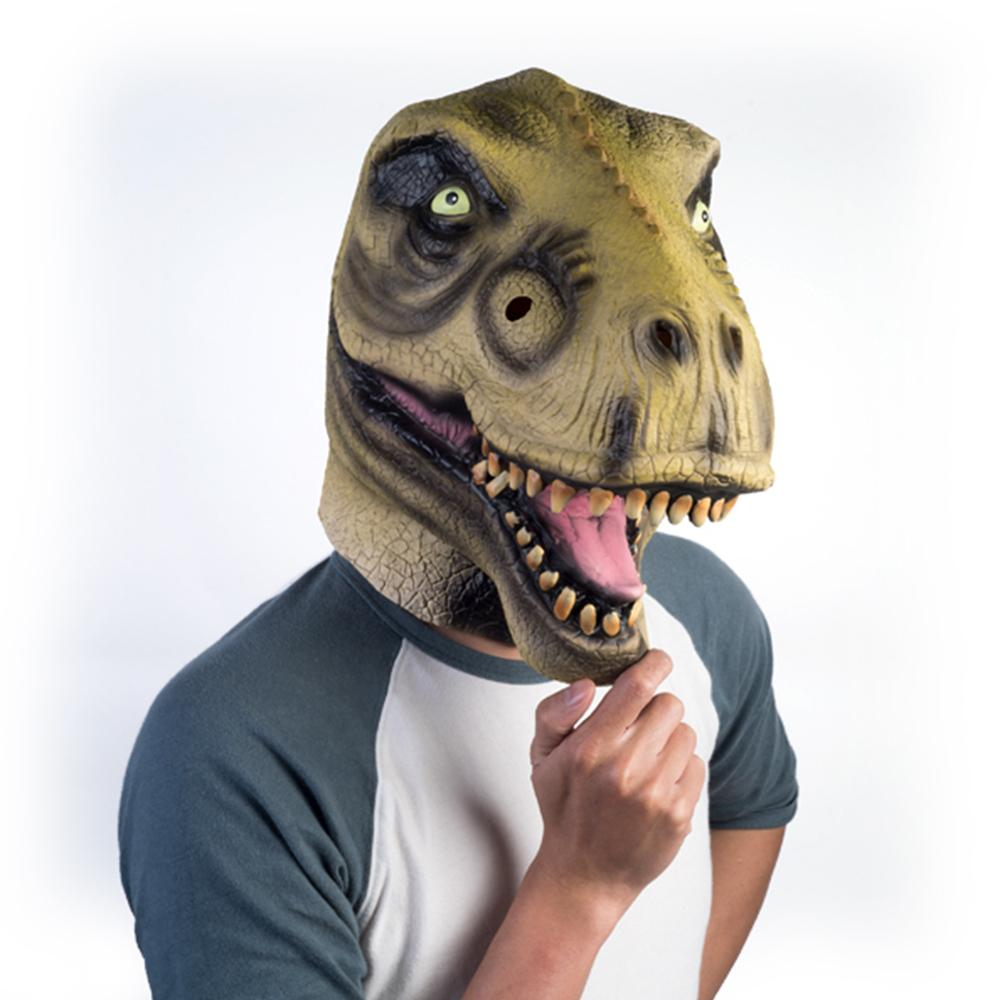T-Rex Dinosaur Latex Party Mask