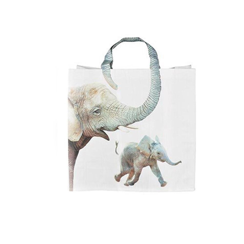 Animal Shopping Bags - Elephant - IS - Yellow Octopus