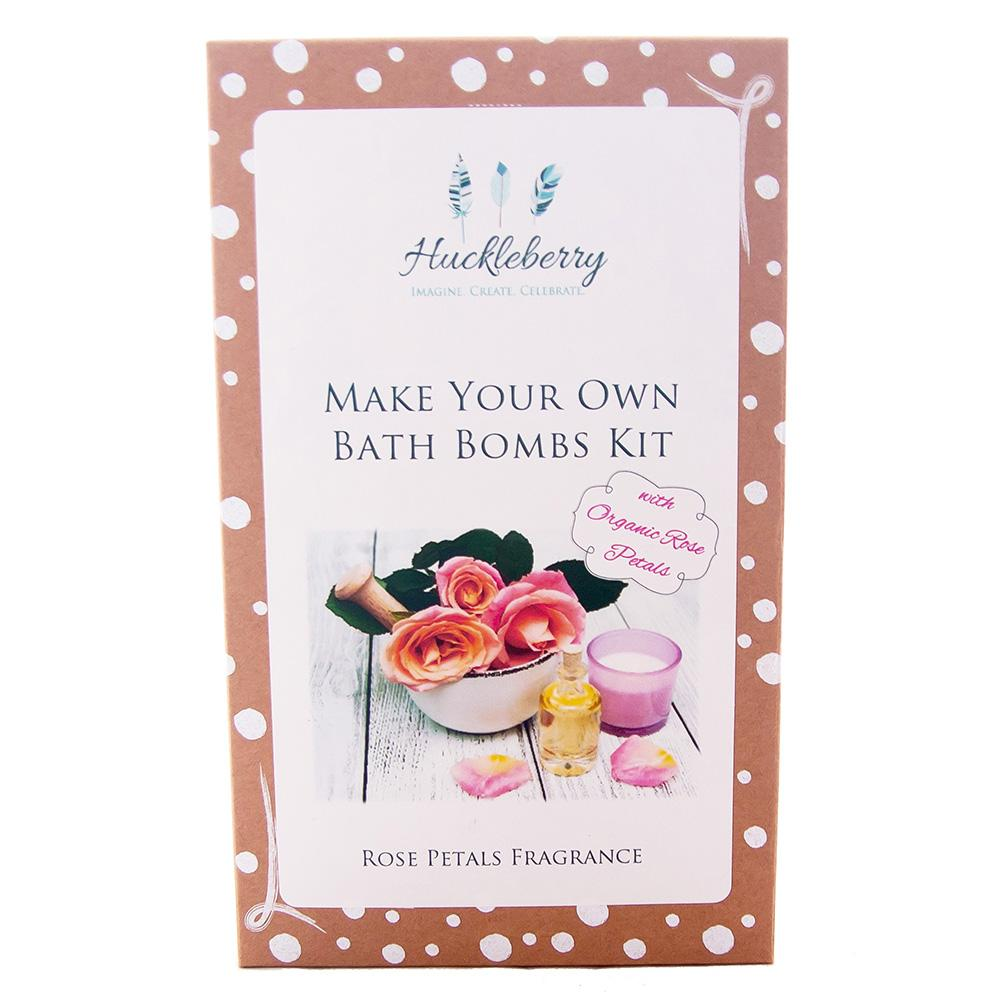 Make Your Own Organic Rose Petal Bath Bombs - - Huckleberry - Yellow Octopus
