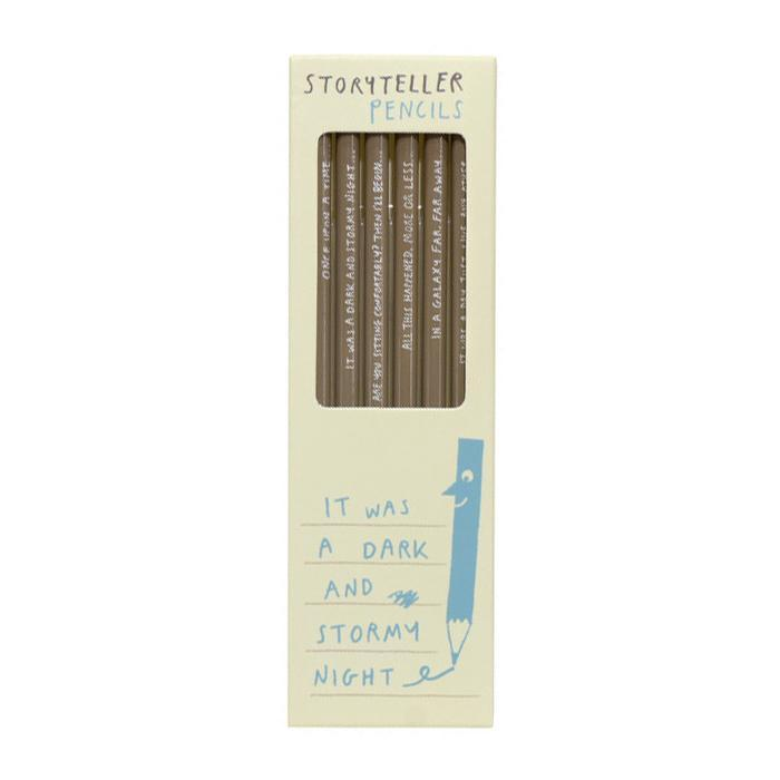 Storyteller Pencils - - Sharp&Blunt - Yellow Octopus