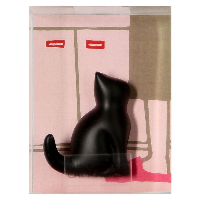 Short Story Cat Key Hanger Fridge Magnet