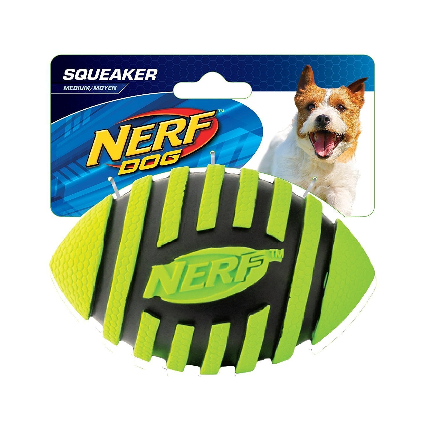 Nerf Nerf Dog Small Squeaking Football