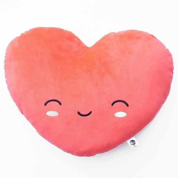 Smoko USB Rechargeable Heated Smiling Heart Pillow