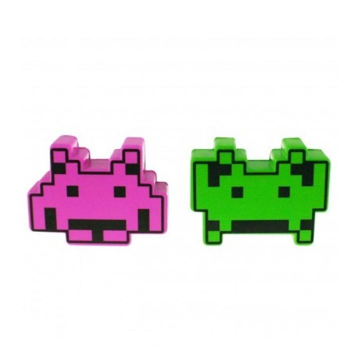 Space Invaders Stress Ball - Green - Space Invaders - Yellow Octopus