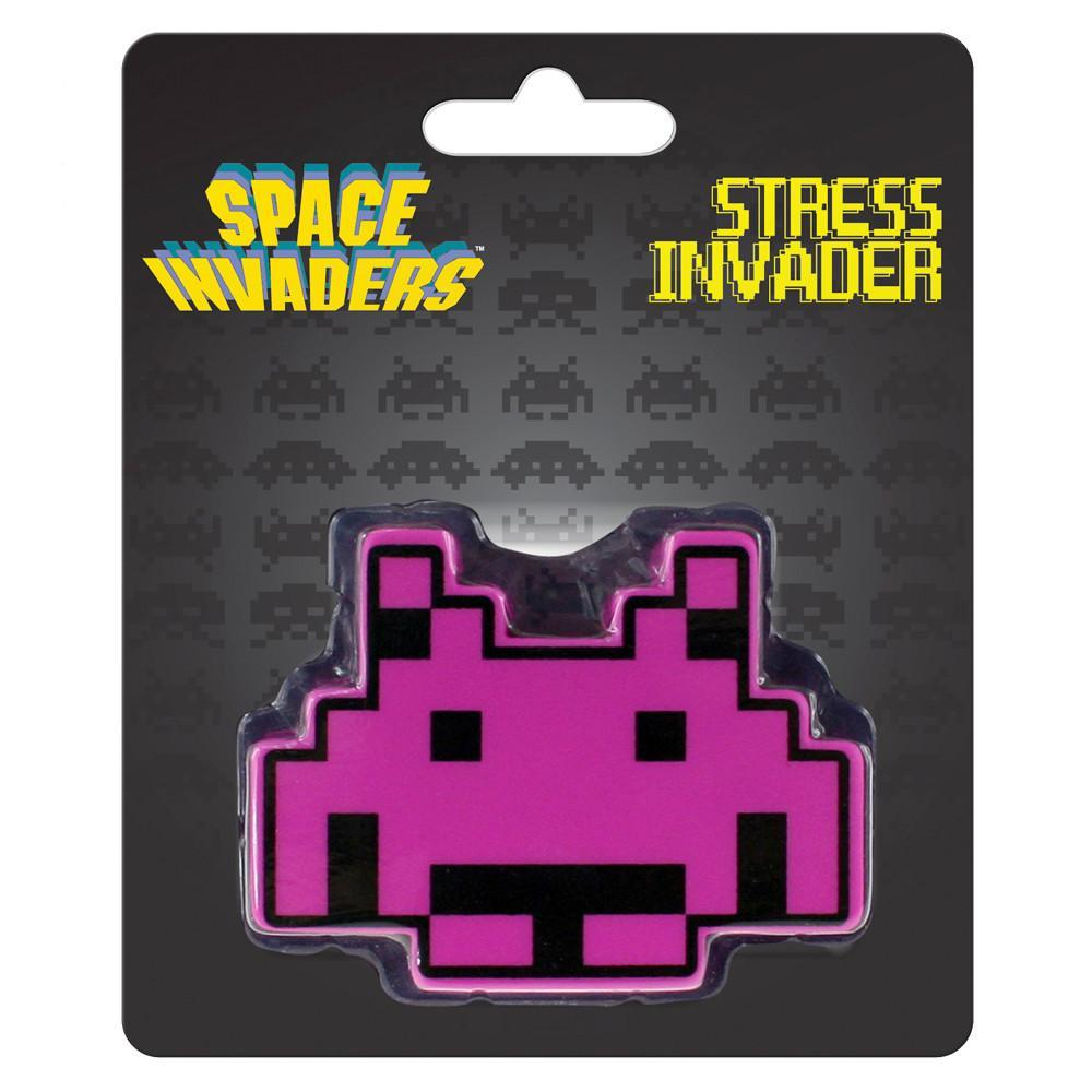 Space Invaders Stress Ball - Purple - Space Invaders - Yellow Octopus