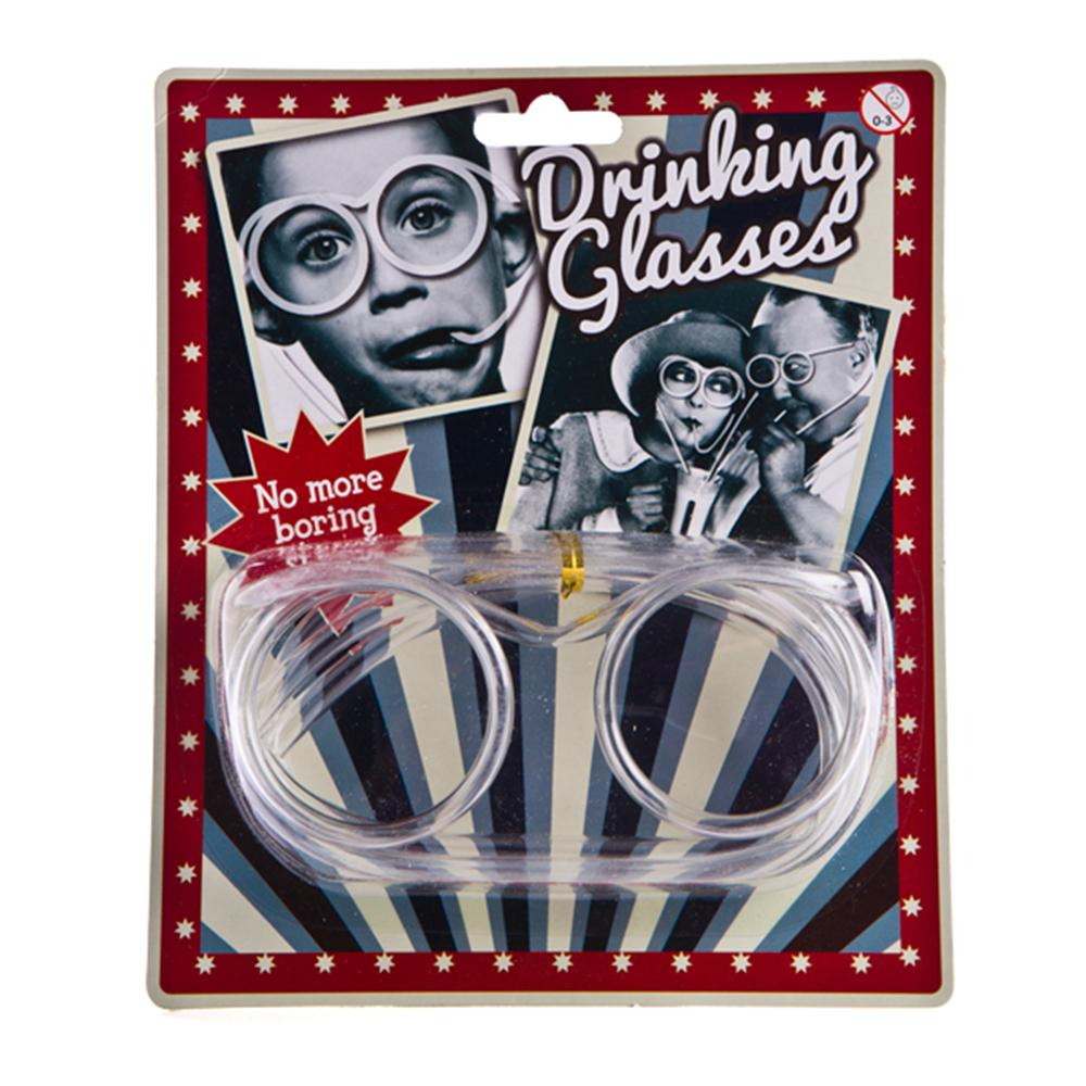 Pack Of 3 Drinking Straw Glasses
