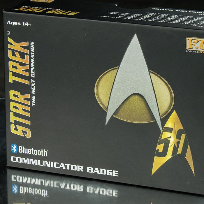 Star Trek TNG Bluetooth Communicator Badge - - Star Trek - Yellow Octopus