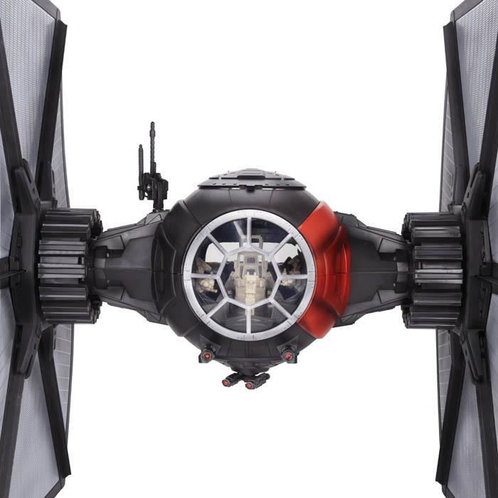 Star Wars The Force Awakens Black Series TIE Fighter with Pilot Model - - Star Wars - Yellow Octopus