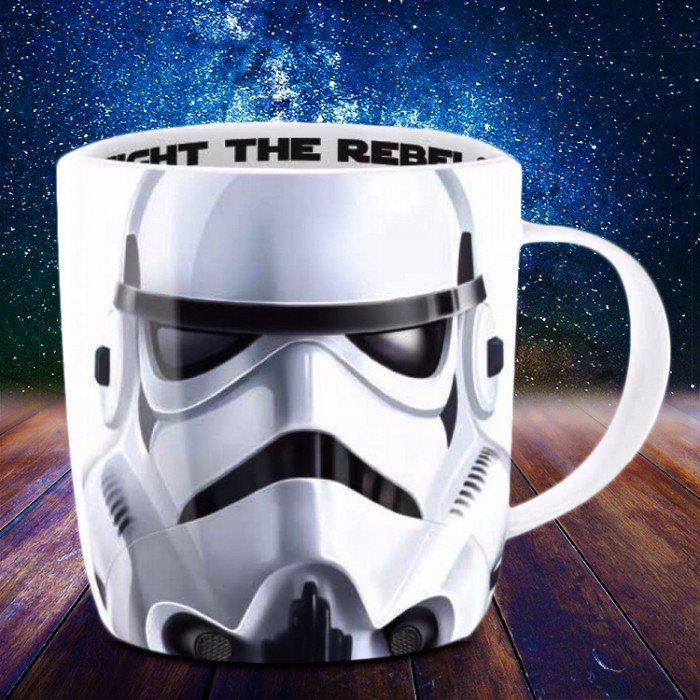 Star Wars Character Mugs - Stormtrooper - Star Wars - Yellow Octopus
