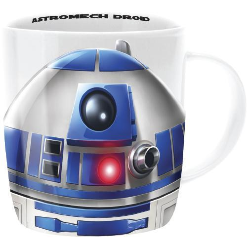 Star Wars Character Mugs - R2-D2 - Star Wars - Yellow Octopus