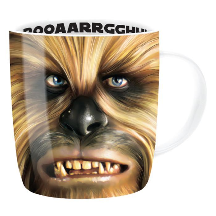 Star Wars Chewbacca Character Mug - - Star Wars - Yellow Octopus