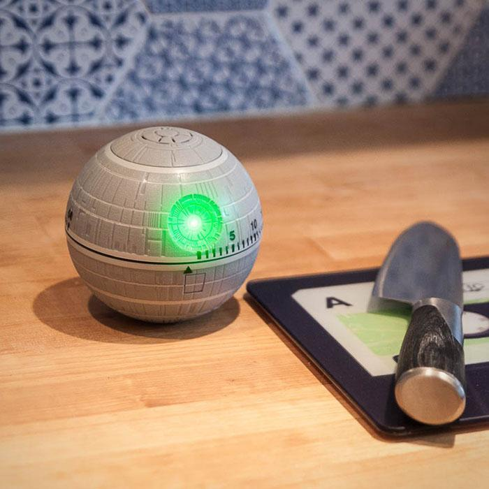 Death Star Kitchen Timer, star wars kitchen, star wars kitchen items