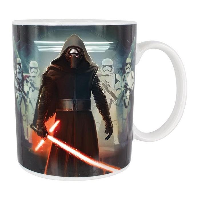 Star Wars Kylo Ren Coffee Mug - - Star Wars - Yellow Octopus