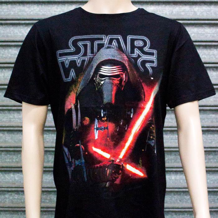 Star Wars Kylo Ren T-Shirt - XXL - Star Wars - Yellow Octopus
