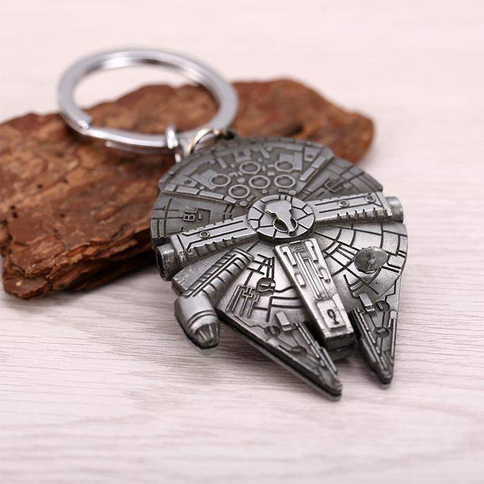 Star Wars Millennium Falcon Keyring - - Star Wars - Yellow Octopus