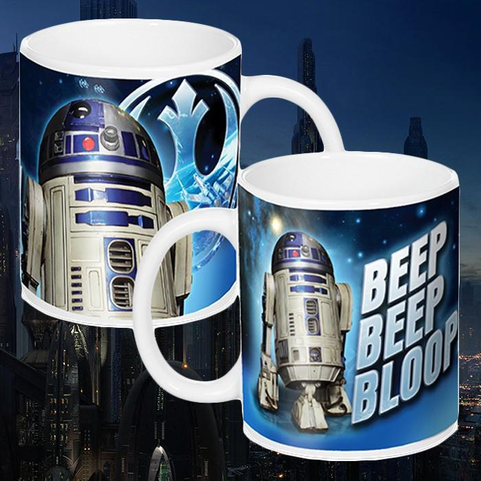 Star Wars R2-D2 Musical Coffee Mug - - Star Wars - Yellow Octopus