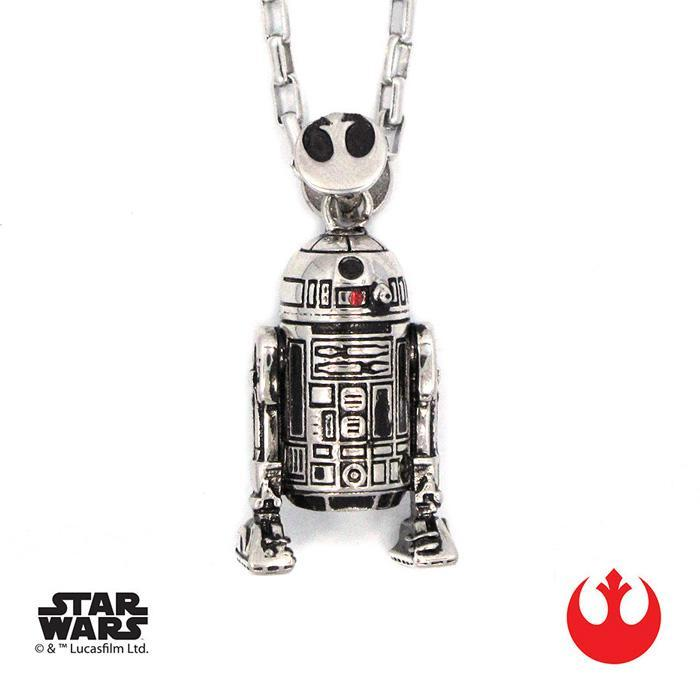 Star Wars R2-D2 Pendant Necklace - - Star Wars - Yellow Octopus