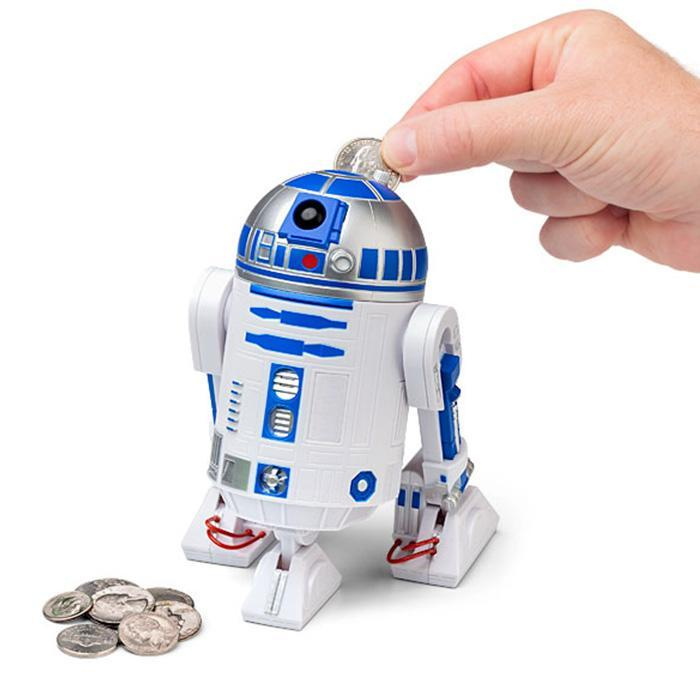 Star Wars R2-D2 Talking Money Bank - - Star Wars - Yellow Octopus