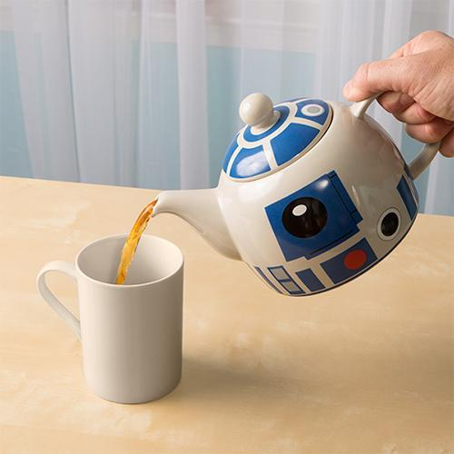 Star Wars R2-D2 Teapot - - Star Wars - Yellow Octopus