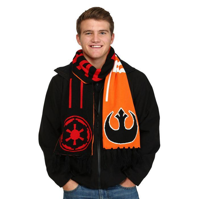 Star Wars Rebel & Imperial Reversible Scarf |  Force Awakens - - Star Wars - Yellow Octopus