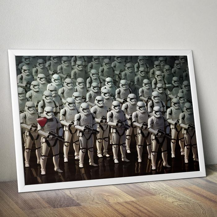 Stormtrooper Army – Star Wars Force Awakens Poster 61 x 91.5cm - - Star Wars - Yellow Octopus