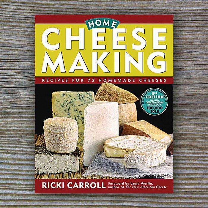 The Big Book of Home Cheese Making - - Storey Publishing - Yellow Octopus