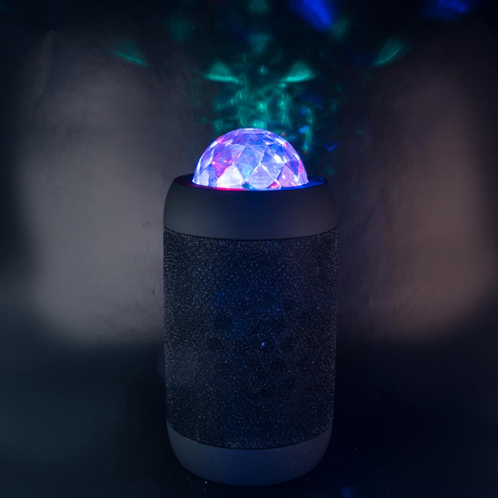 Flashing Disco Ball Wireless Bluetooth Speaker