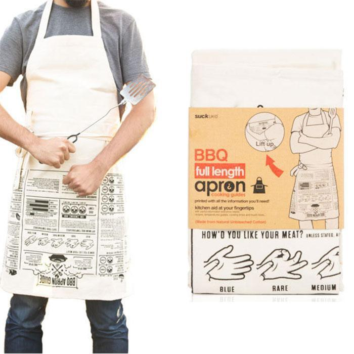 SUCK UK Cooking Aid BBQ Apron | Suck UK