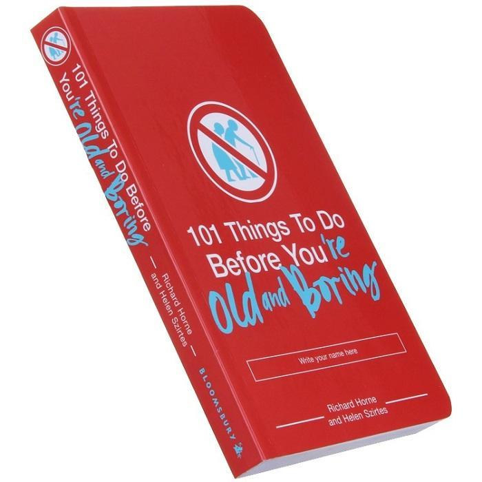 101 Things To Do Before You're Old and Boring - - Summersdale - Yellow Octopus