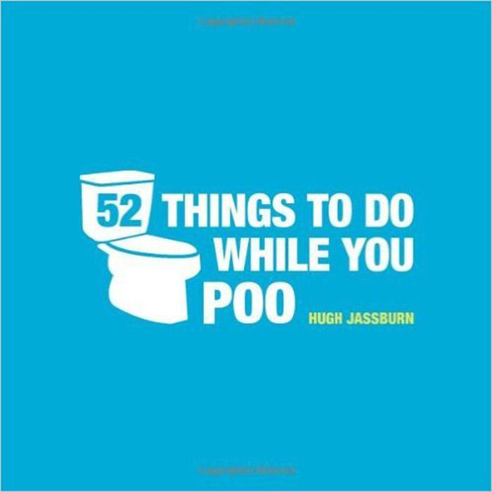 52 Things To Do While You Poo Book - - Summersdale - Yellow Octopus