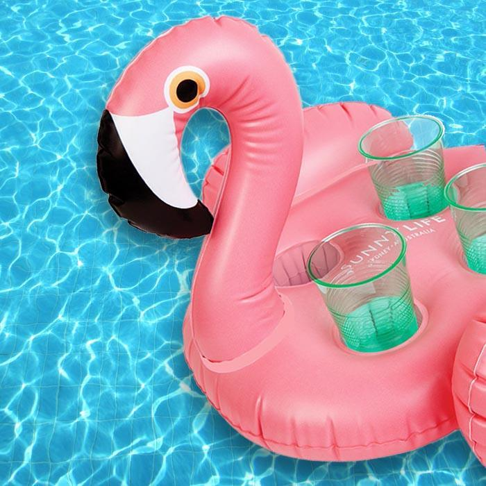 Inflatable Flamingo Drinks Holder | SunnyLife - - SunnyLife - Yellow Octopus