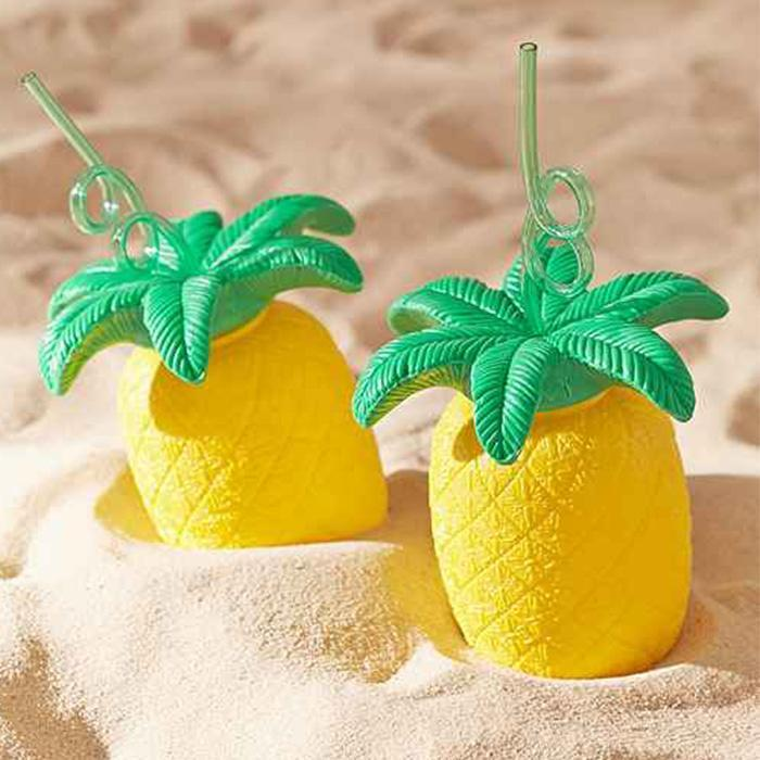 Sunnylife Pineapple Sipper Cup - - SunnyLife - Yellow Octopus