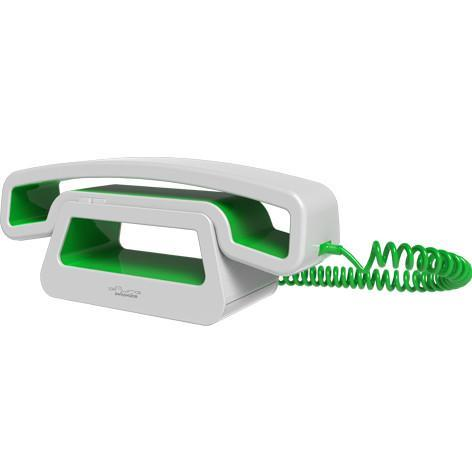 Swissvoice CH01 Corded Handset for Mobiles | White-Green - - Swissvoice - Yellow Octopus