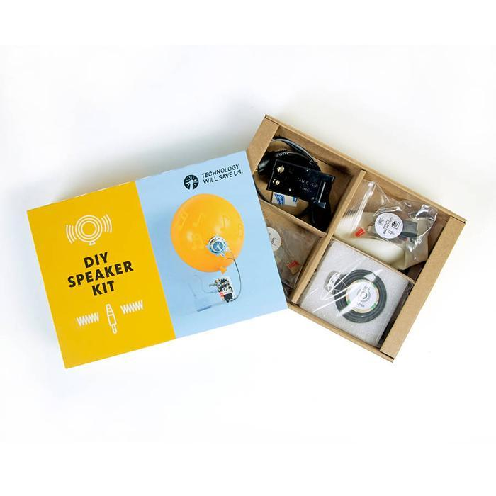 DIY Speaker Kit: Build Your Own Amplifier - - Techology Will Save Us - Yellow Octopus