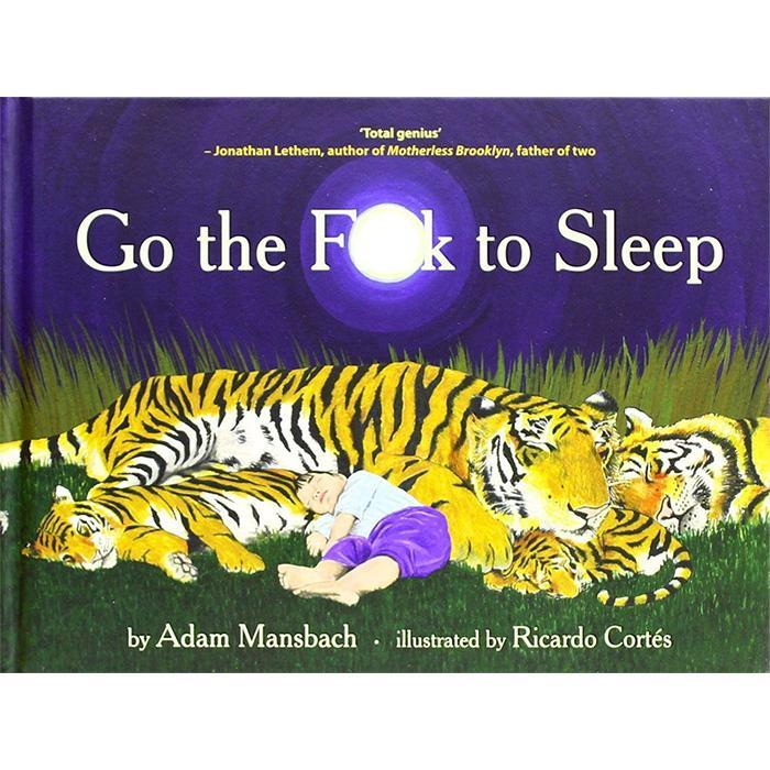 Go The F#ck To Sleep Book - - Text Publishing - Yellow Octopus