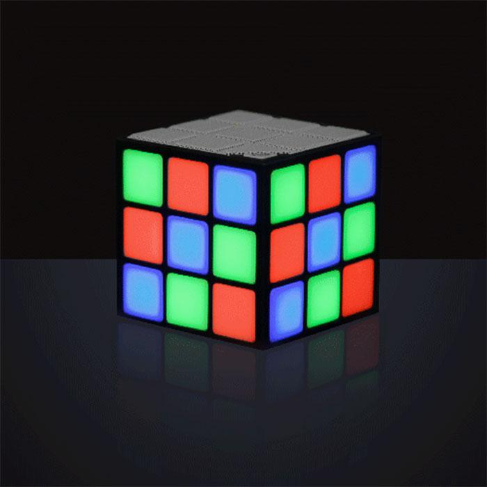 Disco Cube - LED Bluetooth Speaker - - ThumbsUp! - Yellow Octopus
