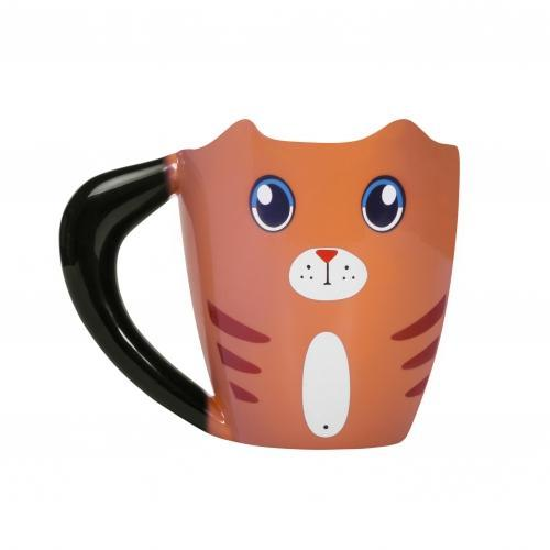 ThumbsUp! Ginger Cat Heat Change Mug