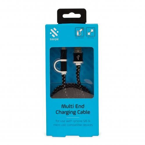Swipe Multi End Charging Cable