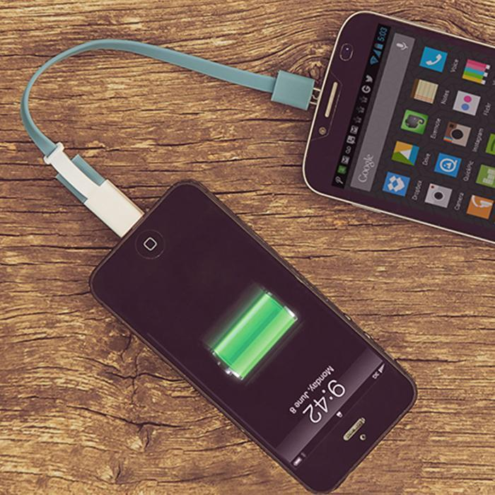 Power Share: Transfer Battery Power Between Phones for Android - - Thumbs Up! - Yellow Octopus