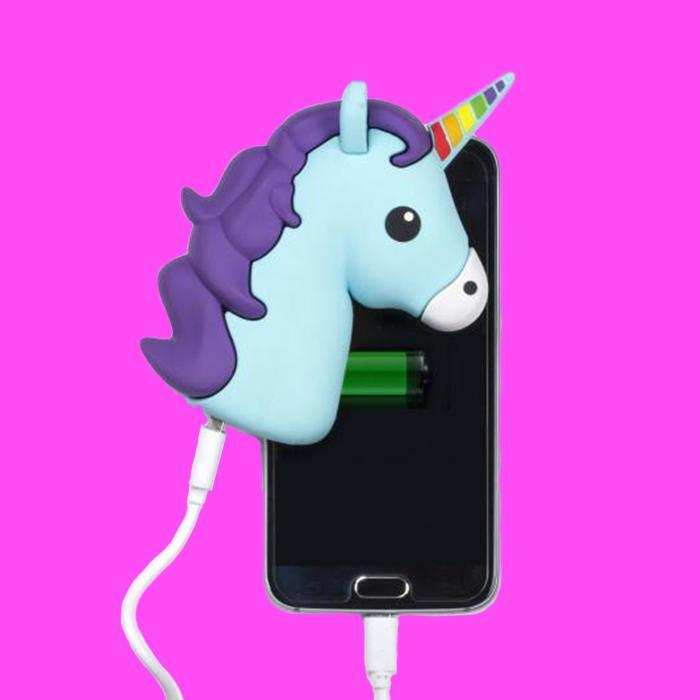 Rainbow Unicorn Powerbank - - Swipe - Yellow Octopus