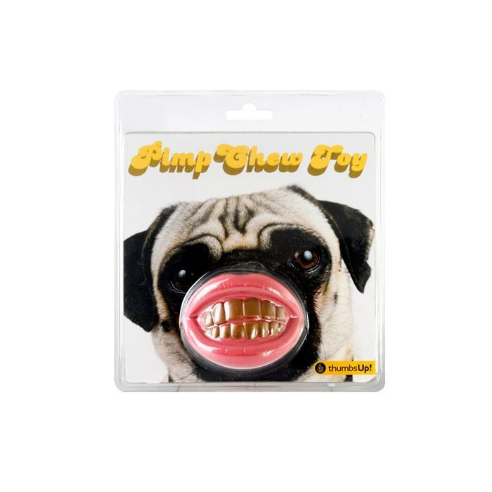 ThumbsUp! Smiling Dog Chew Toy