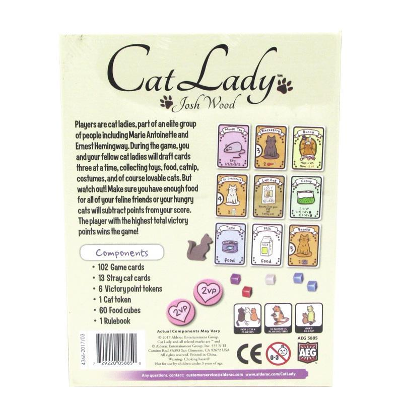 Cat Lady Card Drafting Game - - AEG - Yellow Octopus