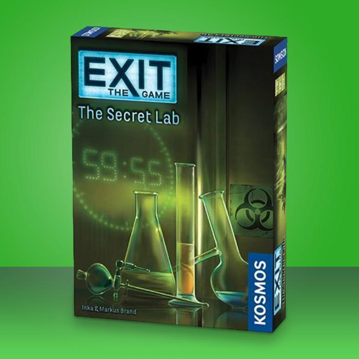Kosmos Exit The Secret Lab Strategy Game