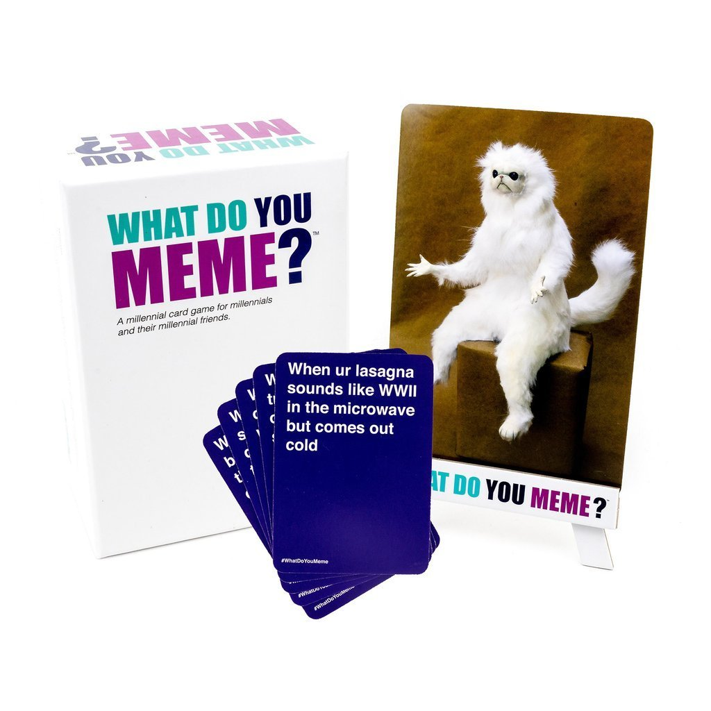 What Do You Meme? Adult Party Game AU Edition - - WhatDoYouMeme - Yellow Octopus