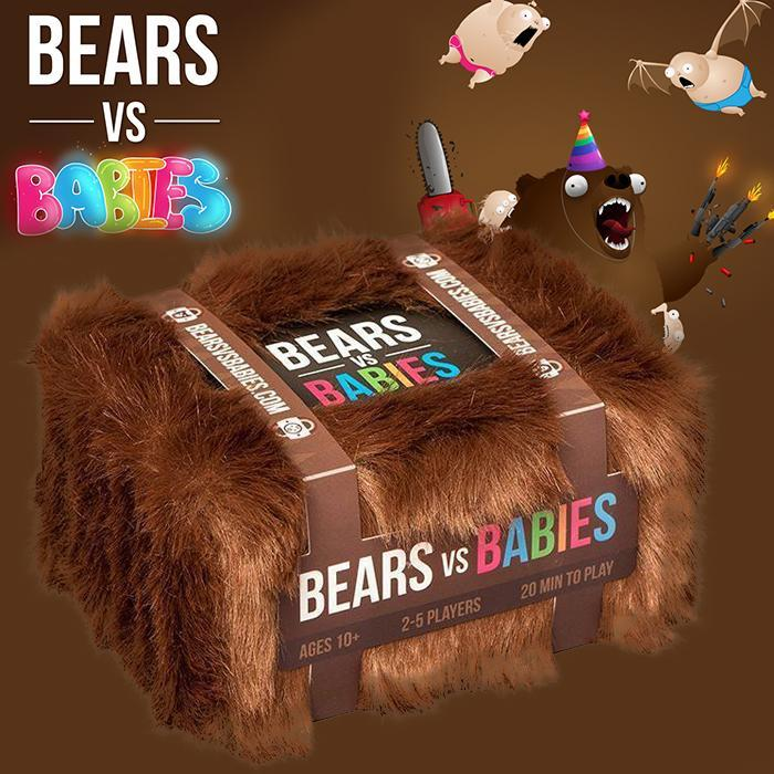 VR Distributions Bears Vs Babies Card Game