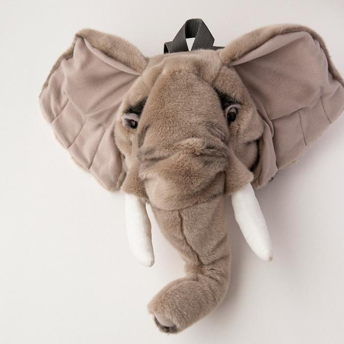 Wild & Soft Elephant Plush Backpack - - Wild & Soft - Yellow Octopus
