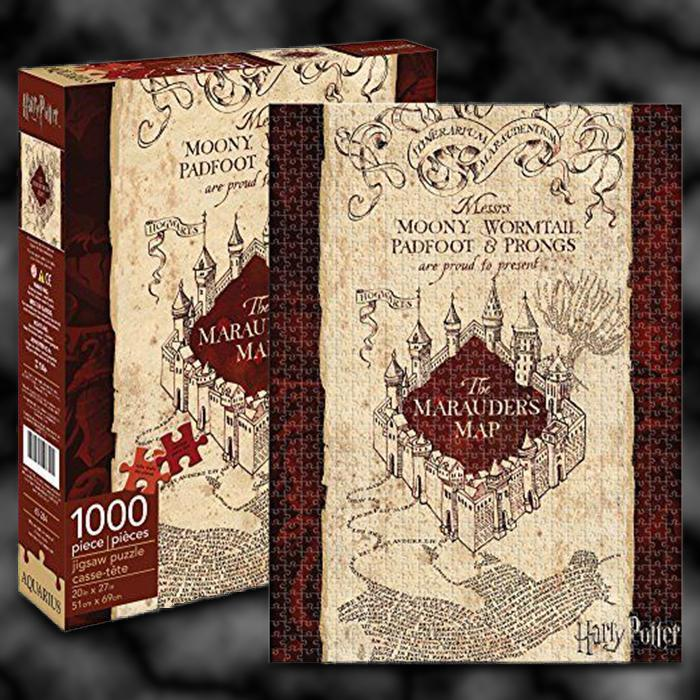 Harry Potter Marauder's Map 1000pc Puzzle