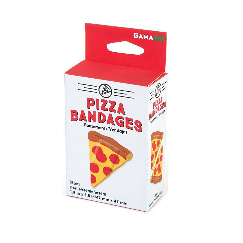 Adhesive Pizza Bandages - - GamaGo - Yellow Octopus