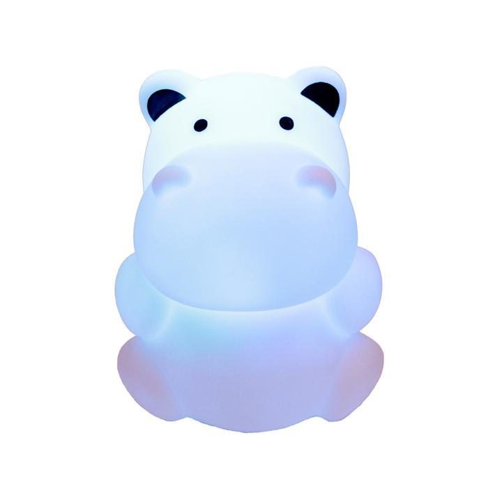 Hippo Zooglo Rechargeable LED Night Light - - Woouf - Yellow Octopus