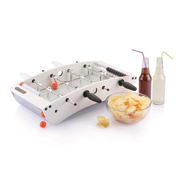 Designer Wooden Tabletop Foosball Game - - XD Design - Yellow Octopus